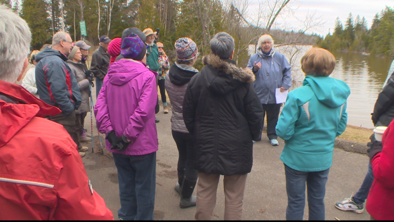 Saint John residents celebrate Earth Day by raising concerns about selling parkland