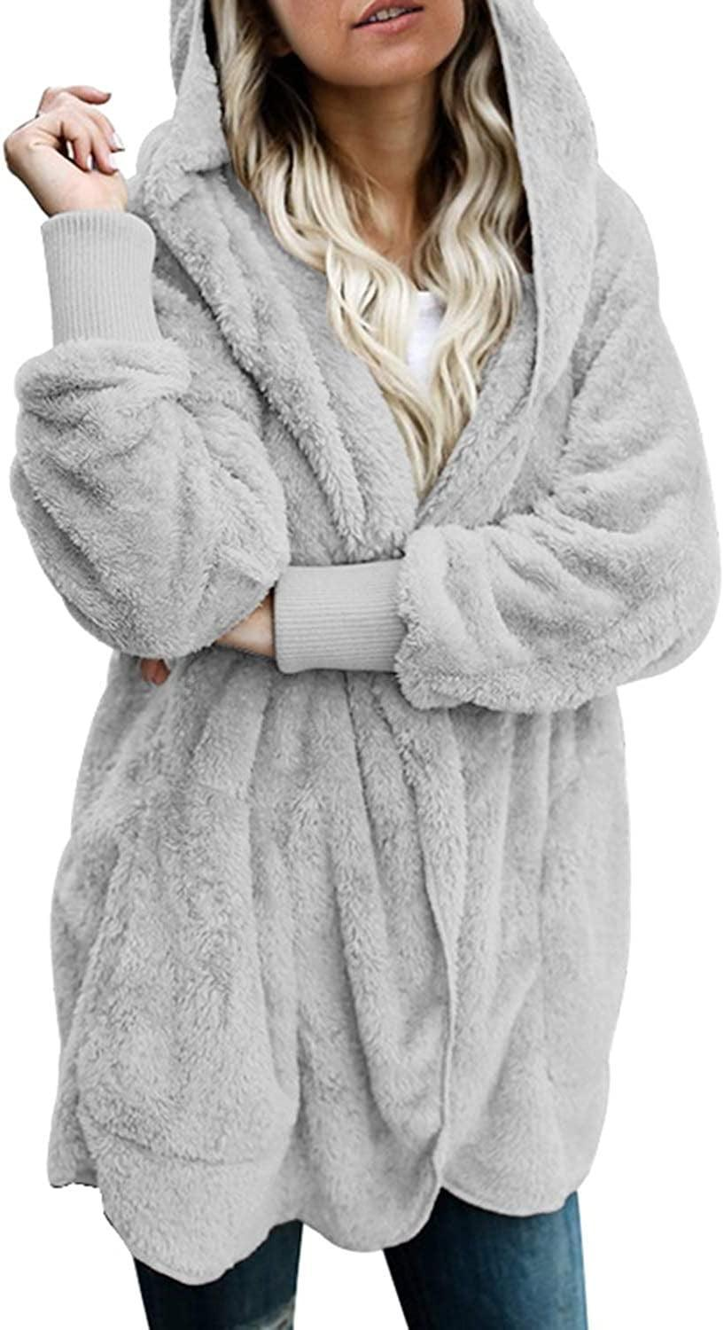 <p>We have total heart eyes for this <span>Dokotoo Long Sleeve Fuzzy Fleece Cardigan</span> ($37) and they will too.</p>