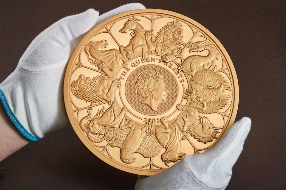 The coin reunites all 10 beasts in one design,PA