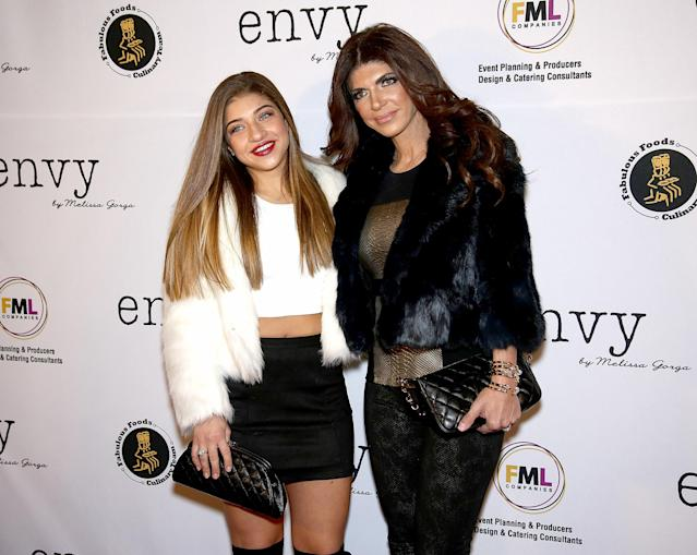 Teresa Giudice is mom-shamed again for her daughter Gia's first day of school outfit. (Photo: Paul Zimmerman/WireImage)