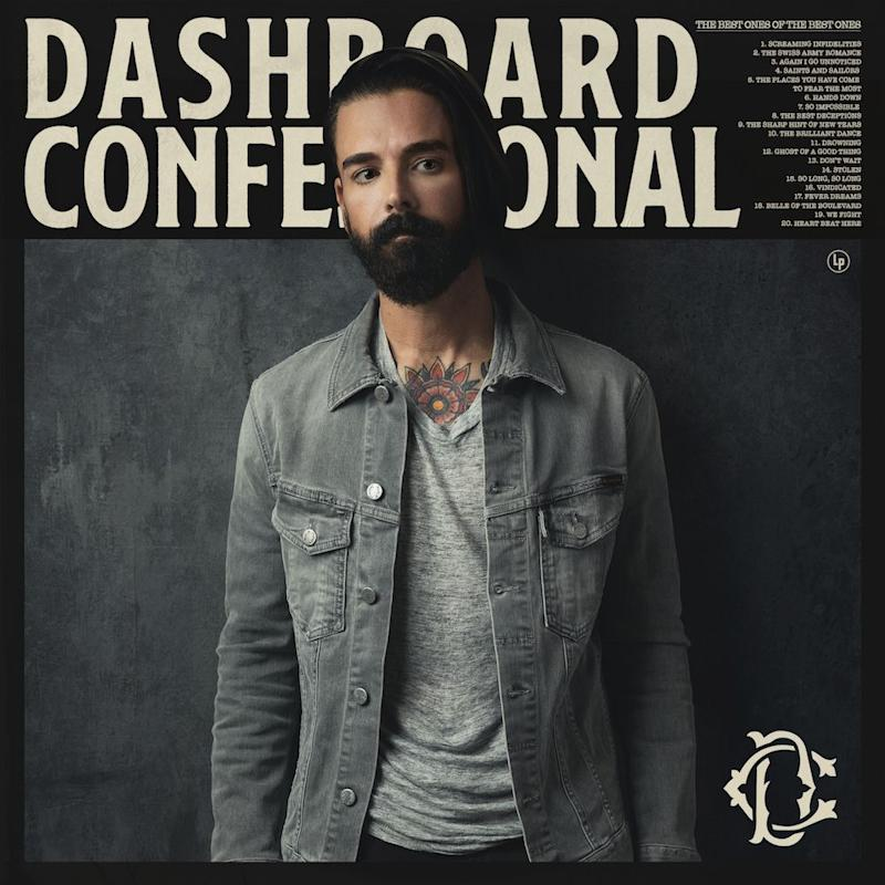 The Best Ones Of The Best Ones dashboard confessional album cover artwork