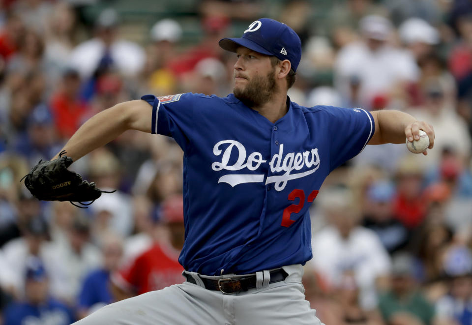 Are there health concerns regarding Dodgers starting pitcher Clayton Kershaw? (AP)