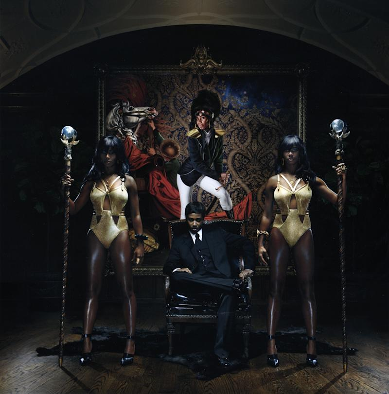 """In this CD cover image released by Atlantic Records, the latest release by Santigold, """"Master of my Make-Believe,"""" is shown. (AP Photo/Atlantic Records)"""