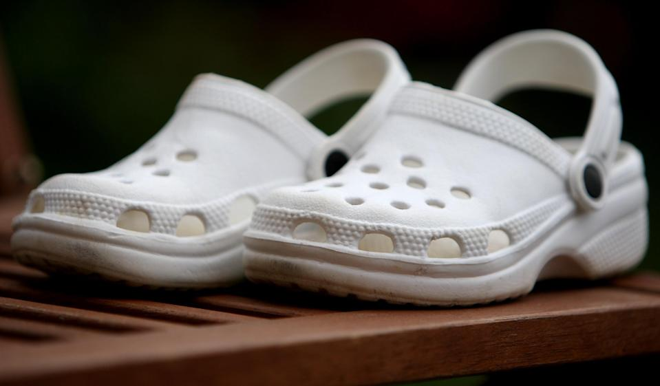 A classic 2007 pair of Crocs [Photo: PA]