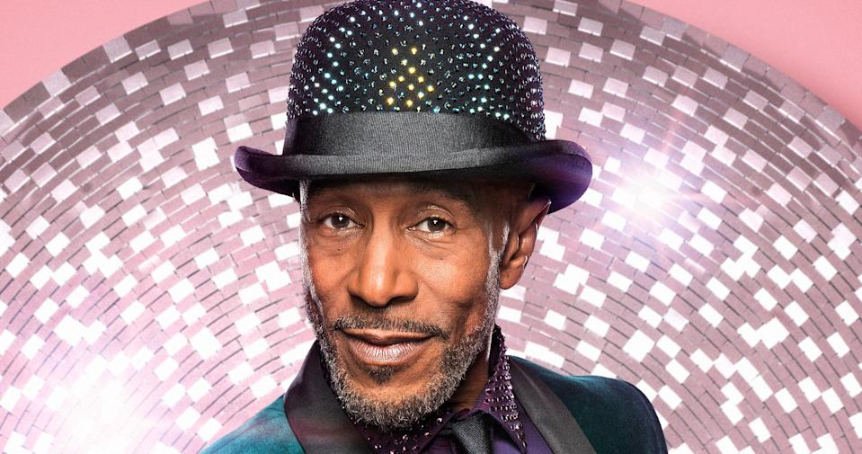 Danny John-Jules is part of this year's Strictly Come Dancing line-up (BBC Pictures)