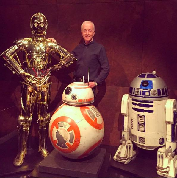 Anthony Daniels and the Droids