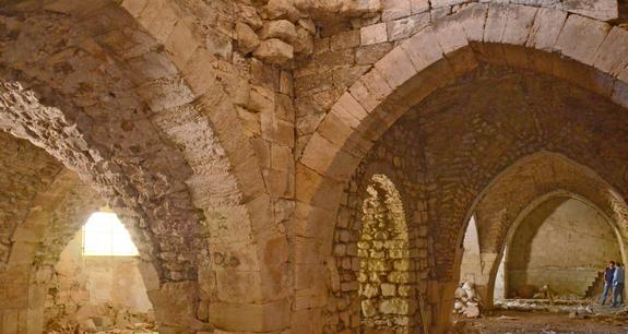 Crusader Hospital Reconstructed in Jerusalem