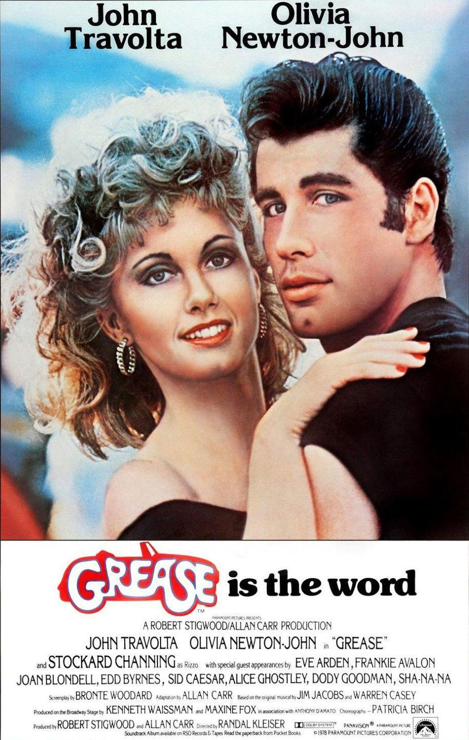 """<p>Grease will <em>always </em>be the word. The story of Sandy and Danny's attempt to make their summer romance continue into the school year despite high school social politics getting in the way is as popular as ever over 40 years after its release. Sure, the plot has its issues when it comes to the whole """"changing yourself for a guy/girl"""" premise, but those frustrations tend to melt away once songs like """"Beauty School Dropout"""" and """"We Go Together"""" come on.</p><p><a class=""""link rapid-noclick-resp"""" href=""""https://www.amazon.com/Grease-Randal-Kleiser/dp/B0026SFEW8/ref=sr_1_2?tag=syn-yahoo-20&ascsubtag=%5Bartid%7C10072.g.27734413%5Bsrc%7Cyahoo-us"""" rel=""""nofollow noopener"""" target=""""_blank"""" data-ylk=""""slk:WATCH NOW"""">WATCH NOW</a></p>"""
