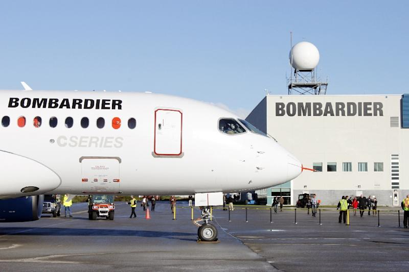 Bombardier says the cost of its CSeries aircraft program has increased by $2 billion to $5.4 billion