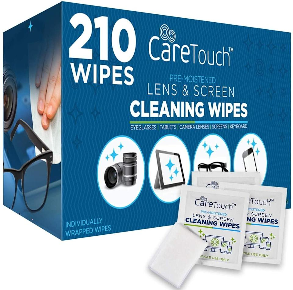 care touch lens cleaning, spin bike accessories