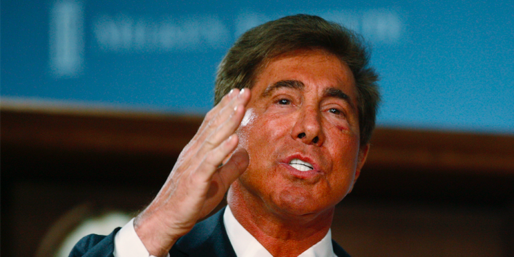Steve Wynn, chairman and CEO of Wynn Resorts, speaks at a panel discussion