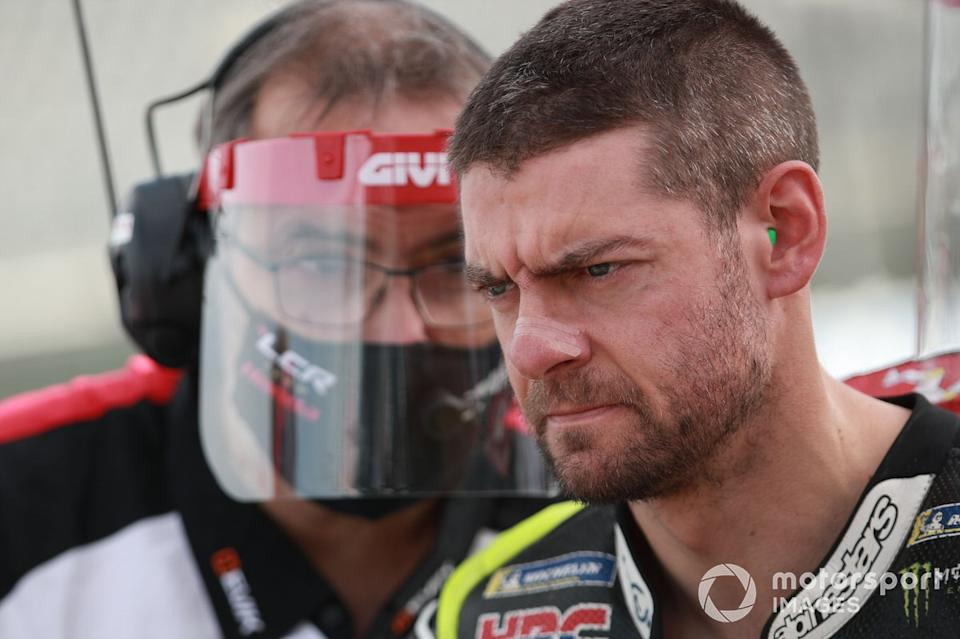 "Cal Crutchlow - Yamaha<span class=""copyright"">Gold and Goose / Motorsport Images</span>"