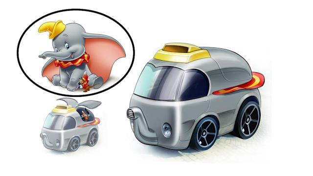 Dumbo (Image: Mattel/Hot Wheels Design Team)