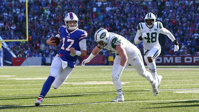 Josh Allen says it's 'so gratifying' that Jets fans booed him at Yankees game