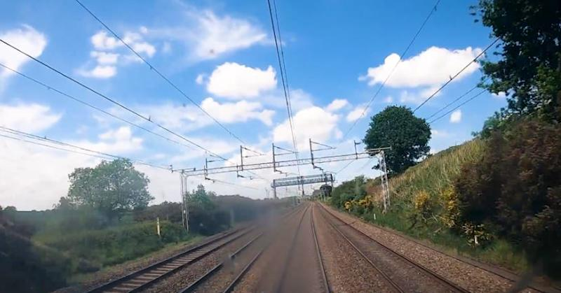 The video is filmed on the London to Glasgow route (Picture: Avanti West Coast)