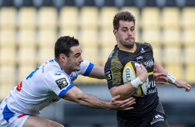 Arthur Retiere took his tally to four tries this season with the hat-trick in the win over Castres
