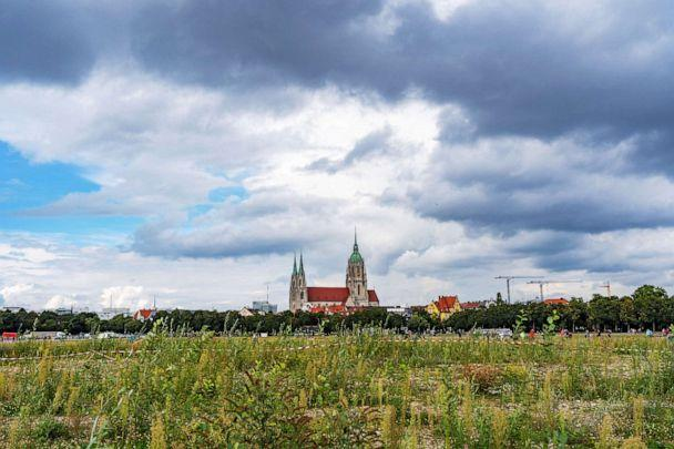 PHOTO: Oktoberfest is held at Theresienwiese, which now stands mostly empty. (Miguel Florencio/ABC News)