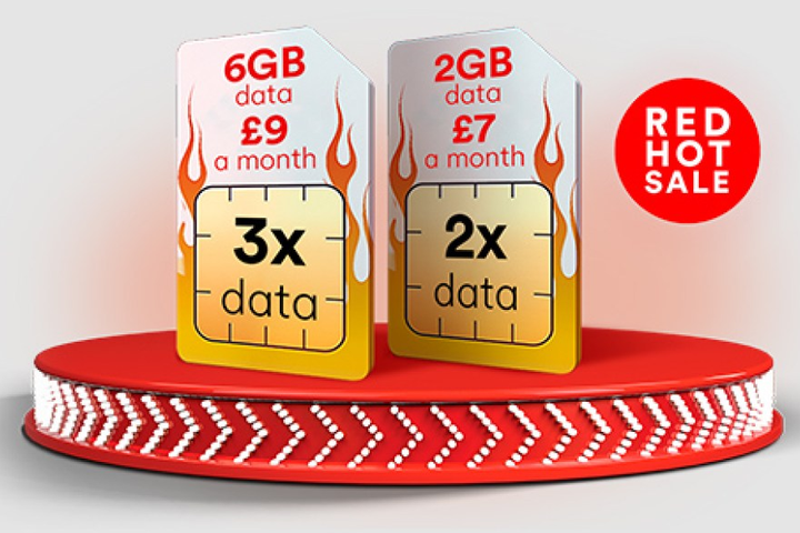 Get Up To 3 Times More Data With Virgin Media Sim Only Deals