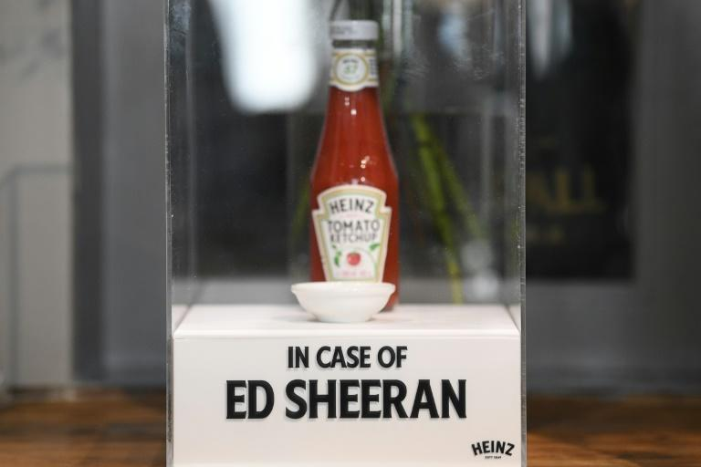The Swan pub sells postcards and other memorabilia, and even keeps a bottle of Sheeran's favourite ketchup in a plexiglass box in case the superstar drops by