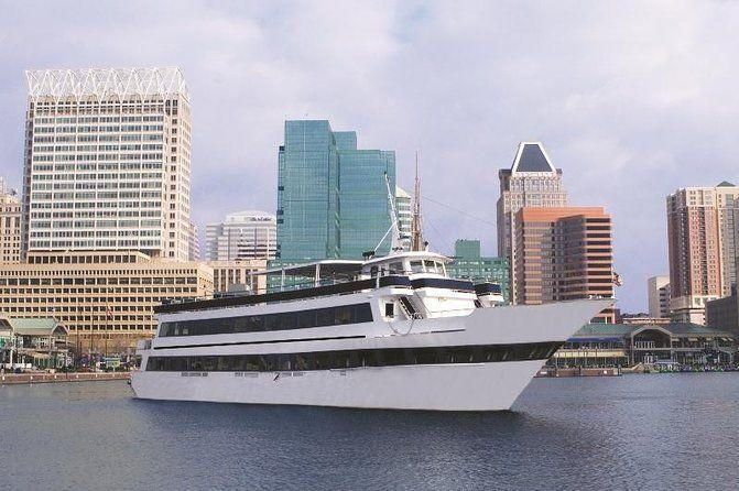 "<p><strong><a href=""https://www.viator.com/tours/Baltimore/Baltimore-Dinner-Cruise-with-Buffet/d4375-5042BALTSPI"" rel=""nofollow noopener"" target=""_blank"" data-ylk=""slk:Spirit of Baltimore Dinner Cruise with Buffet"" class=""link rapid-noclick-resp"">Spirit of Baltimore Dinner Cruise with Buffet</a></strong></p><p><strong>Baltimore, Maryland</strong></p><p>Take in Baltimore from the water as you cruise down the city's Inner Harbor. This luxury dinner cruise allows you to see big attractions throughout the city and fill up on a gourmet buffet. There's also a DJ, providing music and entertainment for guests onboard.</p>"