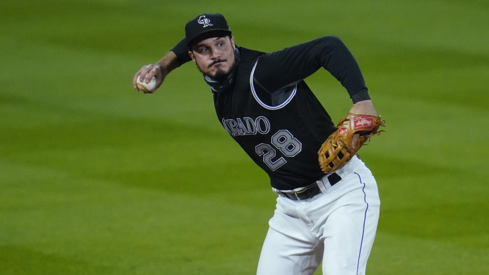 Star third baseman Nolan Arenado, long regarded as the game's best defender at the hot corner, is headed to the St. Louis Cardinals.