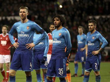 For the third-round tie against Nottingham Forest, Arsenal boss Arsene Wenger had made nine changes to the side that drew with Chelsea in the Premier League in midweek.