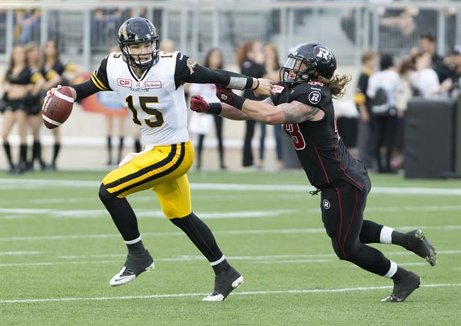 When the CFL opens its 2015 season Thursday, it will be Canada's second most popular sport.  (Peter Power/The Canadian Press.)