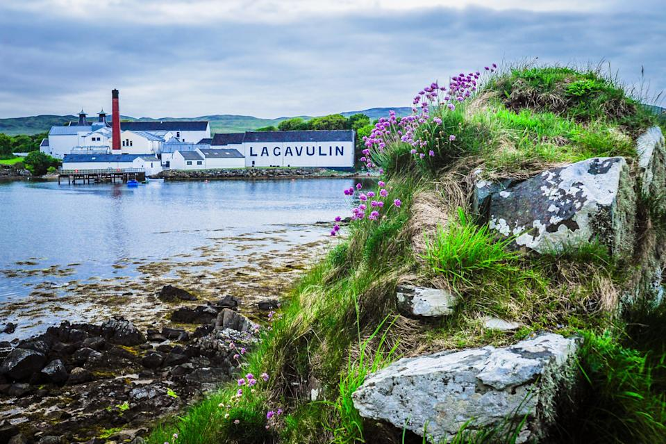 """Island idyll: the Lagavulin distillery on Islay, the """"Queen of the Hebrides"""" (Getty Images)"""