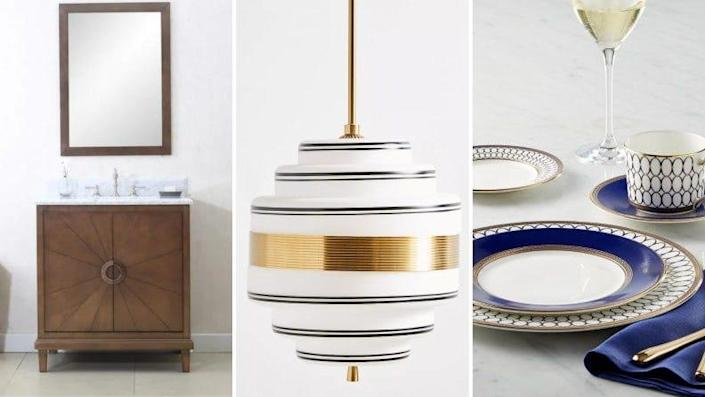 Add pops of elegance to your home.