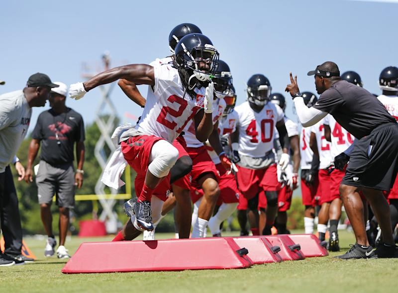 League fines Falcons for too much contact in offseason workouts b57a7727d