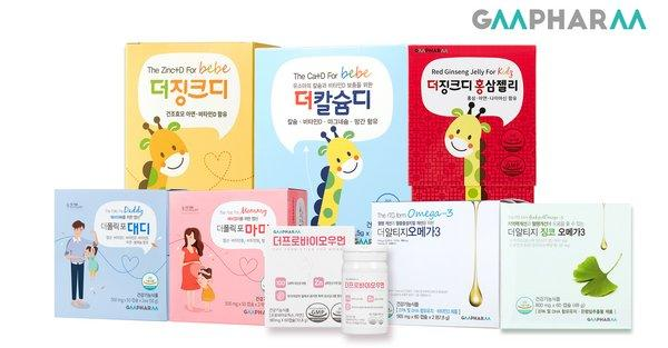 The Pro Biotics for Woman, The rTG Omega-3, The Folic for Daddy, and The Folic for Mommy