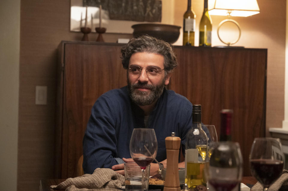 Jonathan (Oscar Isaac) in Scenes From A Marriage. (Still: HBO)