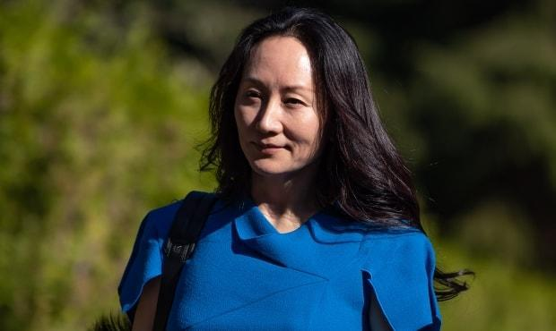 Meng Wanzhou leaves home to attend her extradition hearing at B.C. Supreme Court in Vancouver on Wednesday. The Huawei chief financial officer's extradition proceedings come to an end on Aug. 20. (Darryl Dyck/The Canadian Press - image credit)