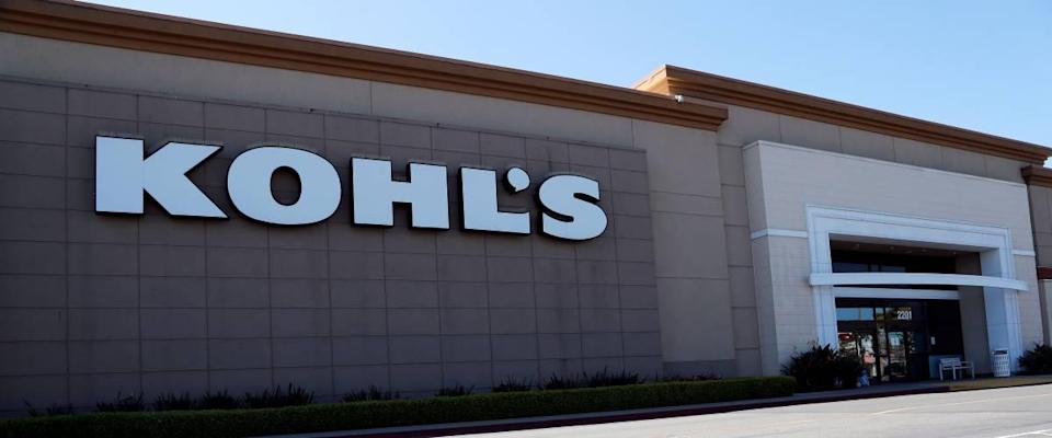 External view of Kohl's department store
