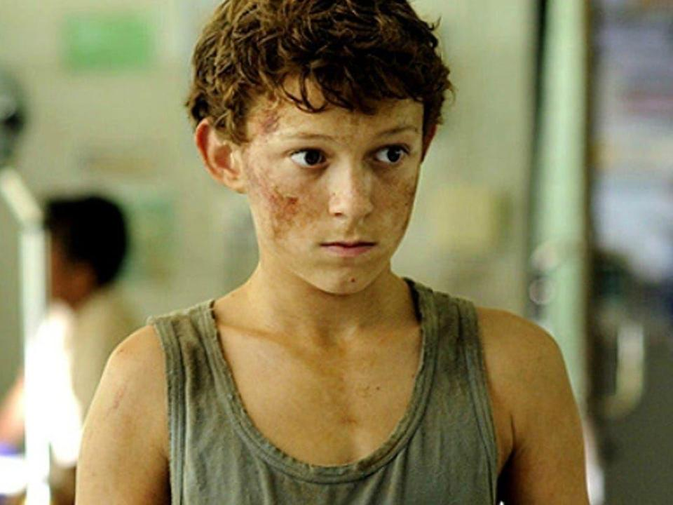<p>Five years before Tom Holland portrayed Spider-Man in various Marvel films, he was trying to not get pulled into the Indian Ocean in the 2012 film <em>The Impossible</em>. </p>