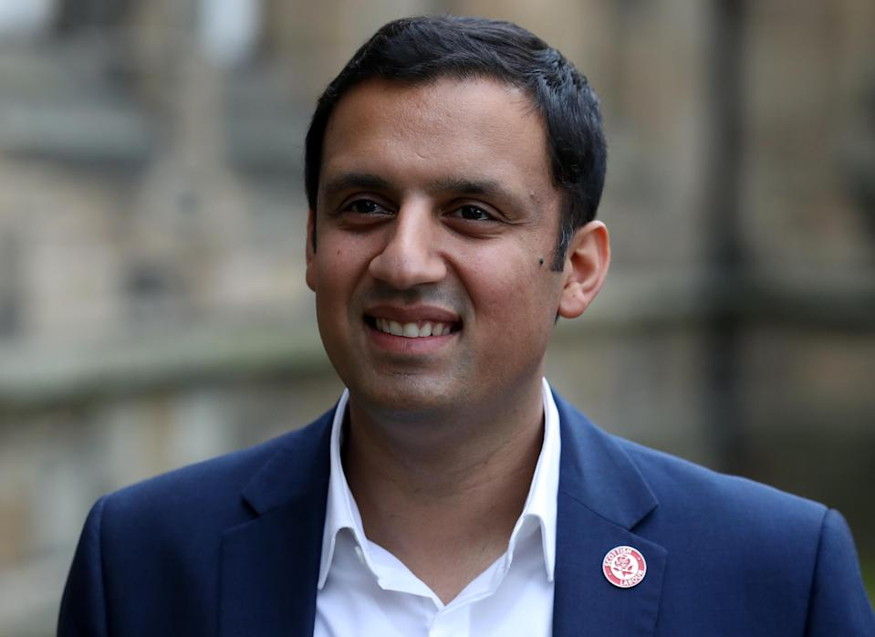 Anas Sarwar said any focus on independence is 'insulting' in the context of the coronavirus pandemic (Andrew Milligan/PA)