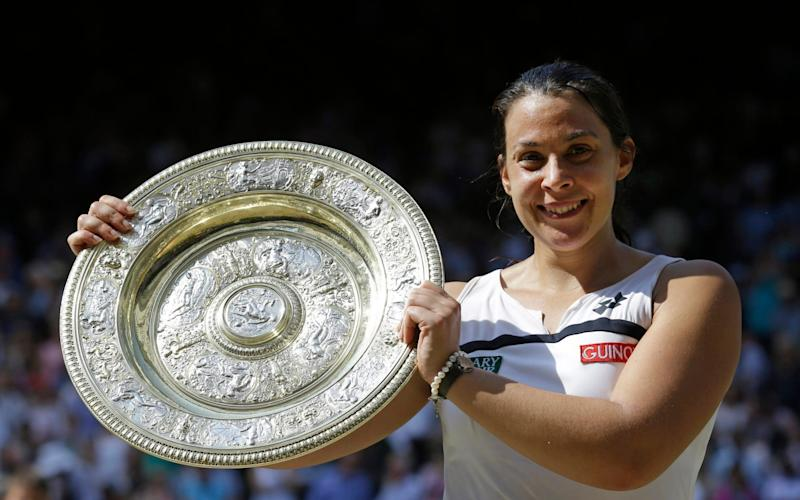 Marion Bartoli offered a fascinating take on the previous high-powered era - AP