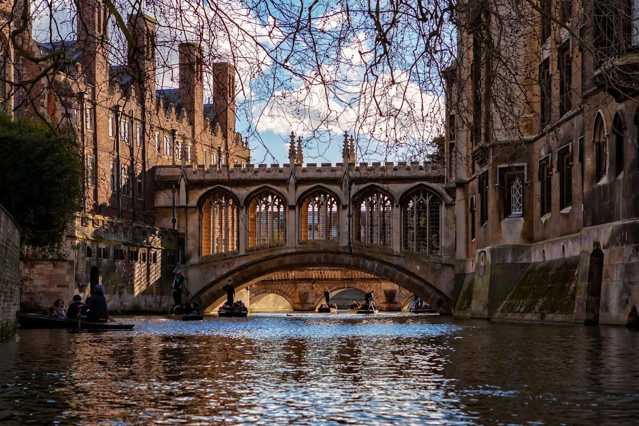 "<p>Cambridge certainly lives up to its name as one of the most picturesque university towns. Built around the river cam, explore the incredible university building (King's College Chapel is a must), hire a punt for the day or grab an afternoon tea at one of the central cafes.  </p><p><a class=""body-btn-link"" href=""https://go.redirectingat.com?id=127X1599956&url=https%3A%2F%2Fwww.airbnb.co.uk%2Fs%2Fcambridge%2Fhomes%3Ftab_id%3Dhome_tab%26refinement_paths%255B%255D%3D%252Fhomes%26source%3Dstructured_search_input_header%26search_type%3Dsearch_query&sref=https%3A%2F%2Fwww.cosmopolitan.com%2Fuk%2Fentertainment%2Ftravel%2Fg30397906%2Fbest-places-to-visit-uk%2F"" target=""_blank"">BOOK NOW</a></p>"