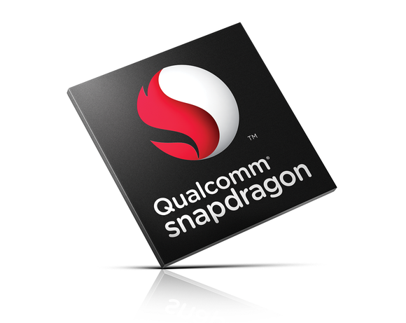 A rendering of a Qualcomm Snapdragon processor.