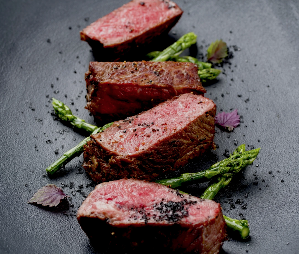 """<strong><h2>Holy Grail Steak Co. </h2></strong> <br><strong>How It Works: </strong>Shop premium steaks, sourced from artisanal farmers. <br><br><strong>What You Get: </strong>Serious steak for serious steak lovers, like dry-aged Black Angus beef and American Wagyu. <br><br><strong>Good To Know: </strong>Holy Grail is the <a href=""""https://holygrailsteak.com/collections/japanese-wagyu"""" rel=""""nofollow noopener"""" target=""""_blank"""" data-ylk=""""slk:only certified online seller of Kobe beef"""" class=""""link rapid-noclick-resp"""">only certified online seller of Kobe beef</a> (the real deal, from Japan) in the U.S. If you're a serious steak lover, this is, well, the holy grail. <br><br><strong>Price: </strong>Starting at $18.<br><br><strong>Perfect For: </strong>The steak fanatic and grill master.<br><br><em>Shop <strong><a href=""""https://holygrailsteak.com/"""" rel=""""nofollow noopener"""" target=""""_blank"""" data-ylk=""""slk:Holy Grail Steak Co."""" class=""""link rapid-noclick-resp"""">Holy Grail Steak Co.</a></strong></em><br><br><br><br><br><br><br><br><br><br><br>"""