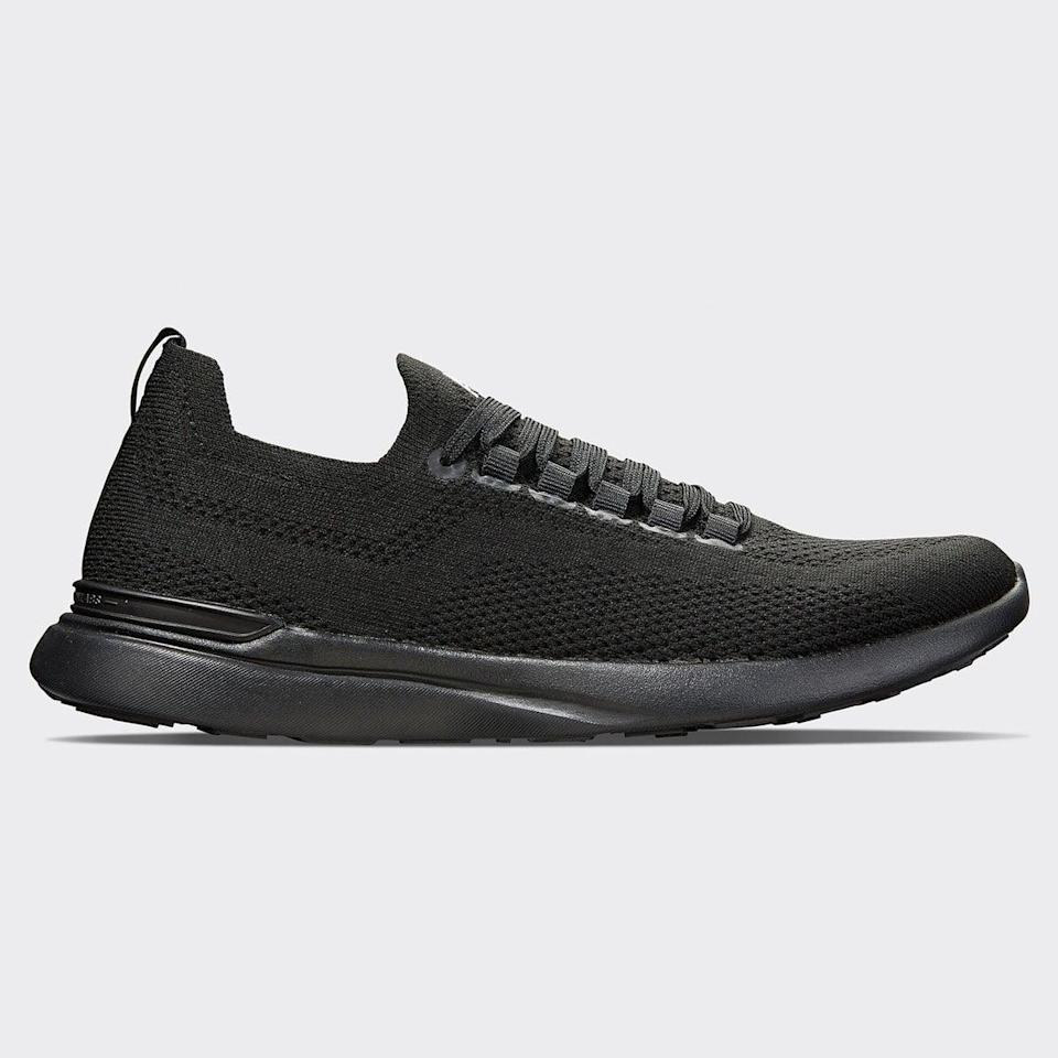 <p>These cool <span>APL Techloom Breeze Sneakers</span> ($200) were made for working out, but they're also so cute. The sleek style goes with everything, and we love the all black for fall.</p>