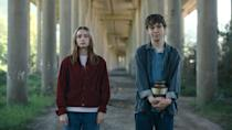 """<p>If you love quirky British teen dramas, then you'll definitely love <strong>The End of the F***ing World</strong>. Two troubled teens, Alyssa and James, decide to run away together, and plenty of chaos ensues. Like <strong>Sex Education</strong>, the show focuses on absent parents and difficult family situations as well. Oh, and James spends much of the first season contemplating whether or not he's a psychopath, and whether or not he should kill Alyssa. It sounds dark, but somehow the show still manages quite a bit of humor. </p> <p><a href=""""http://www.netflix.com/title/80175722"""" class=""""link rapid-noclick-resp"""" rel=""""nofollow noopener"""" target=""""_blank"""" data-ylk=""""slk:Watch The End of the F***ing World on Netflix"""">Watch <strong>The End of the F***ing World</strong> on Netflix</a>.<br></p>"""