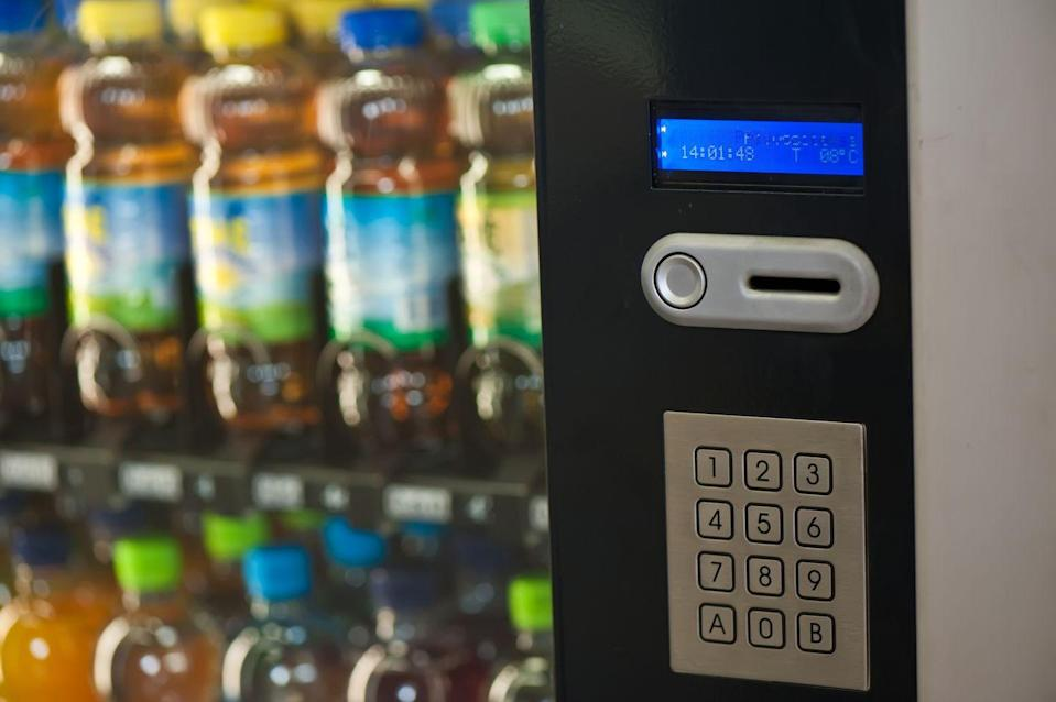 <p>In Washington, it's been decided that attaching vending machines to a utility pole is off-limits without prior consent, so you'll just have to track down your snacks elsewhere.</p>