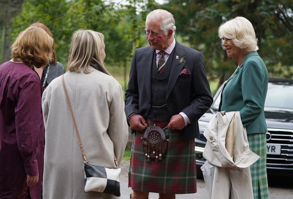 The royal visit to Ayrshire (Andrew Milligan/PA) (PA Wire)