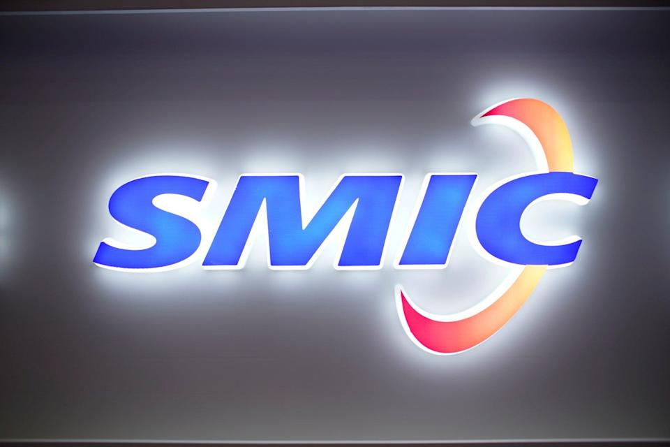 The logo of Semiconductor Manufacturing International Corporation (SMIC) is seen at China International Semiconductor Expo (IC China 2020) in Shanghai, China October 14, 2020. Photo: REUTERS