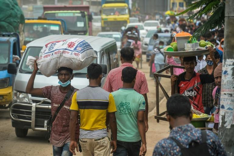 Bangladeshi health officials said the highly contagious Delta variant is fueling the rapid surge of the virus