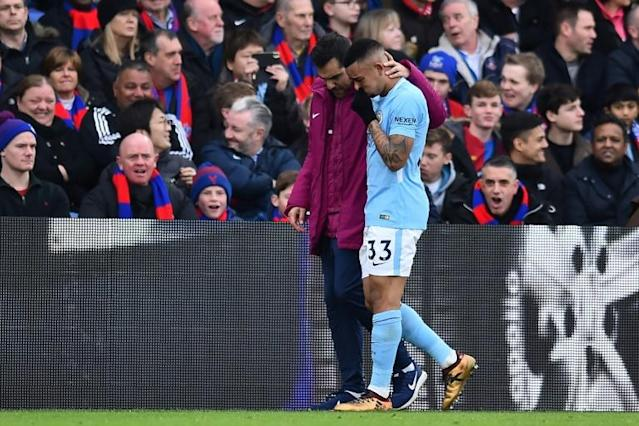 Manchester City striker Gabriel Jesus could make a shock return at Wembley after being out with a knee injury since the end of December