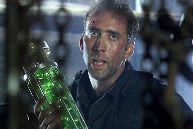 Image result for the rock nicolas cage