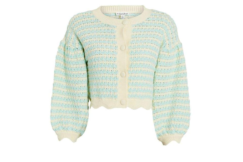 for love lemons, cardigans, chunky sweaters