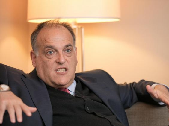 Javier Tebas has urged plans to behave (Getty)